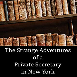 The Strange Adventures of a Private Secretary in New York audiobook cover art