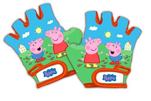 Barbieri Peppa Pig Gants de Protection Mixte Enfant, Vert/Bleu