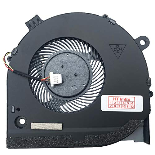 CPU Version Fan Cooler Compatible with Dell G5 15 5590 (MTWTT), G5 15 5590 (PCNJJ), G5 15 5590 (XFRP2), G5 15 5590 (X984V), G5 15 5590 (YTCMP), G5 15 5590 (CX7YV)