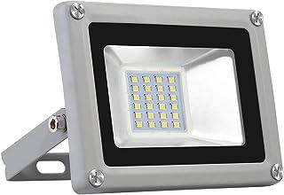 Viugreum Focos LED Exterior 20W, Floodlight Led 2000LM 6500K(Blanco Frío), Iluminación interior exterior Impermeable IP65,...