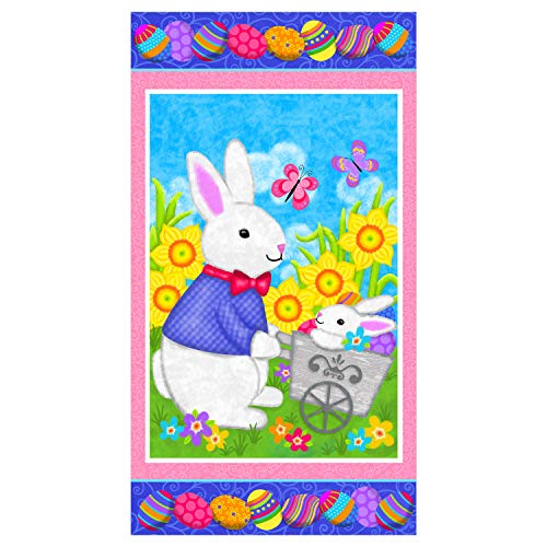 easter fabric panel - 1