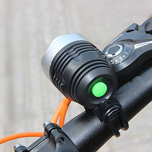 CT-CT Cycling Accessory LED MTB Mountain Bike Bicycle Light Headlight Headlamp Torch USB Rechargeable Headlight Mode Bicycle Lights Lamp Outdoor Cycling Bicycle Accessories