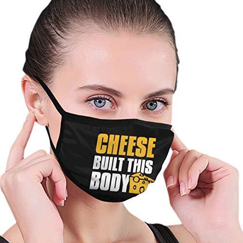 Cheese Built This Body Grafiek, heren, dames, comfortabel, wasbaar, herbruikbaar, gehoorbescherming voor tuinders