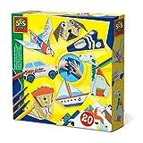 SES Creative Animales y vehículos de origami - Sets origami para niños (5 año(s), Países Bajos, CE, 200 mm, 40 mm, 200 mm) , color/modelo surtido
