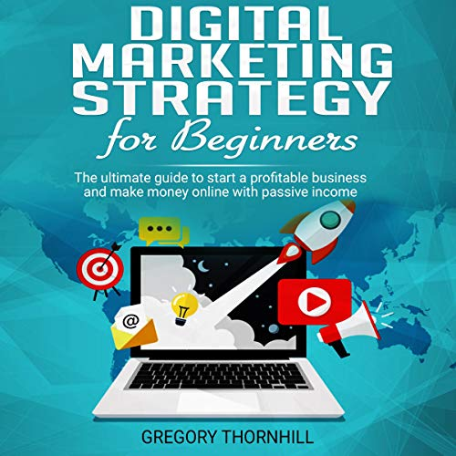 Digital Marketing Strategy For Beginners cover art