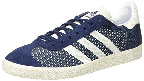 adidas Gazelle Primeknit, Zapatillas para Hombre, Azul (Nemesis/Off White/Chalk White), 44 EU