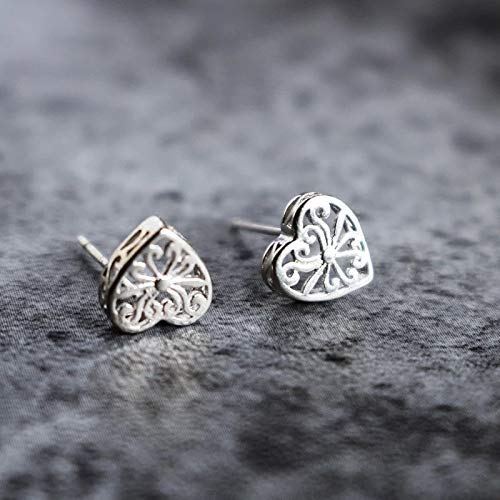 Alexandro Solid 925 Sterling Silver Earrings For Women And Girls