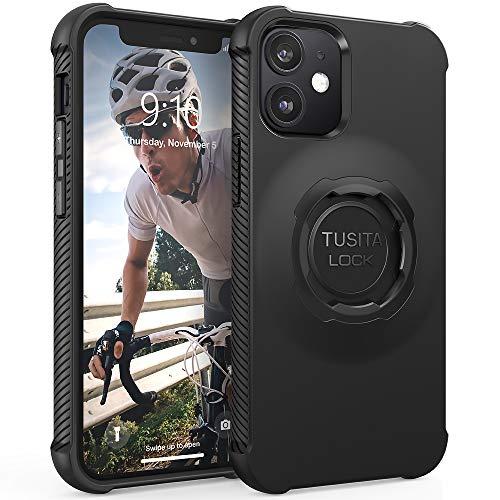 TUSITA Funda Diseñado para Apple iPhone 12 Mini - Case Protectora Carcasa Skin -Accesorios para Smartphone