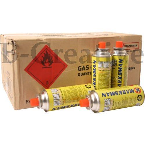 b-creative butano Gas conjuntos 481656Refill Recargas puede latas para barbacoa cocina de camping