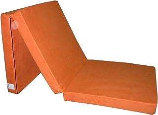 comprar comparacion Natalia Spzoo Natalia Spzoo Cama de invitados, colchón plegable 195 x 65 x 8 cm (Naranja)