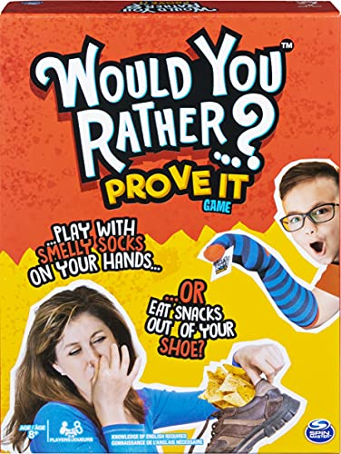 Would You Rather…? Prove It, Hilarious Family Game of Demented Dilemmas, for Ages 8 and Up