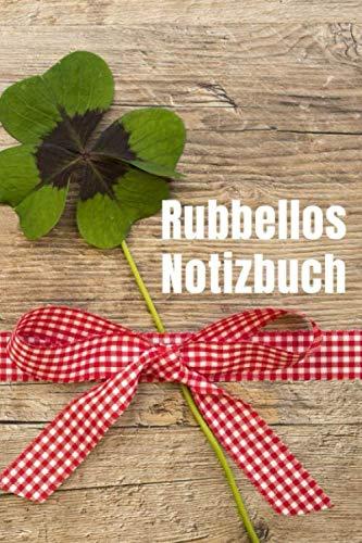 Rubbellos Notizbuch: Rubbel-Lose sammeln - Geschenkidee - Notizbuch A5 120 Seiten (hälfte liniert)