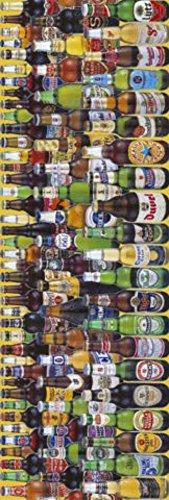 GB Posters Beers of the World deurposter 158 x 53 cm