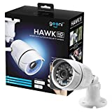 Geeni Hawk 1080p HD Outdoor Smart Wi-Fi Security Camera with Night Vision, Motion Alerts and IP66 Weatherproof, Works with Amazon Alexa,The Google Assistant, White