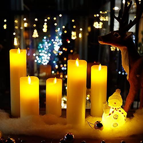 CCLIFE -   LED Kerzen 3er 5er