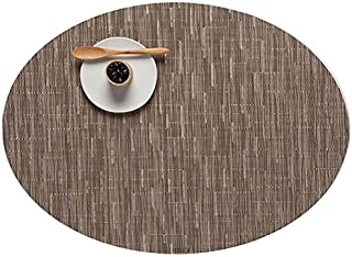 Chilewich Oval Bamboo Placemat Color: Dune