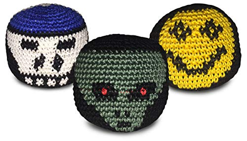World Footbag Hacky Sack Footbag, 3 Pack