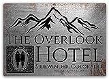 No dream Overlook Hotel Eisen Malerei Wand Poster Metall
