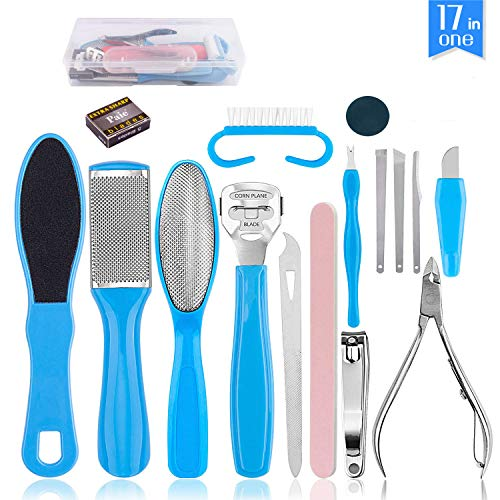 17 in 1 Foot Dead Skin Remover Pedicure Kit $15.39 (45% Off with code)