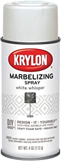 Krylon, White Whisper, I00602 Marbelizing Spray Decorative, 4 Ounce