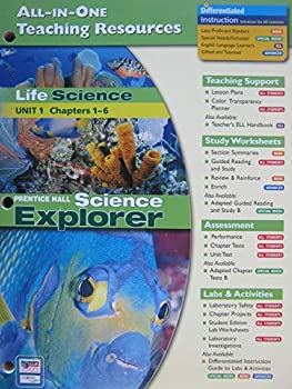 Paperback Life Science: All-In-One Teaching Resources (Unit 1 Ch. 1-6) Book