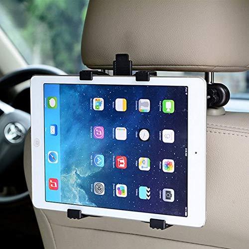 Universele Tablet Hoofdsteun Houder | Tablethouder voor alle Tablets | Stevige Kwaliteit Hoofdsteunhouder met Draaimechanisme| Tablet Houder voor 6 tot 12 inch | Geschikt voor Apple iPad, Samsung Tab