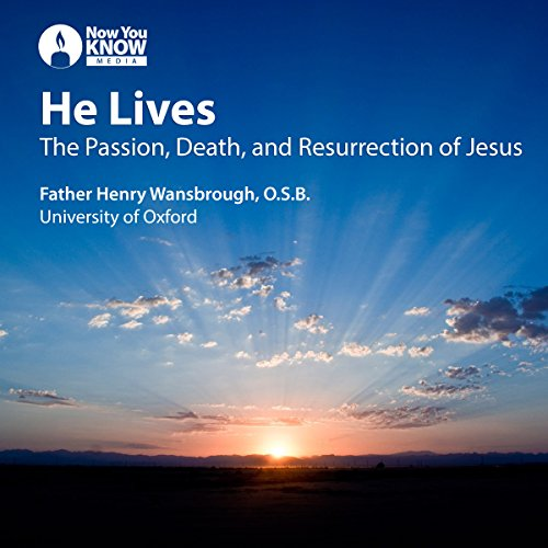 He Lives audiobook cover art