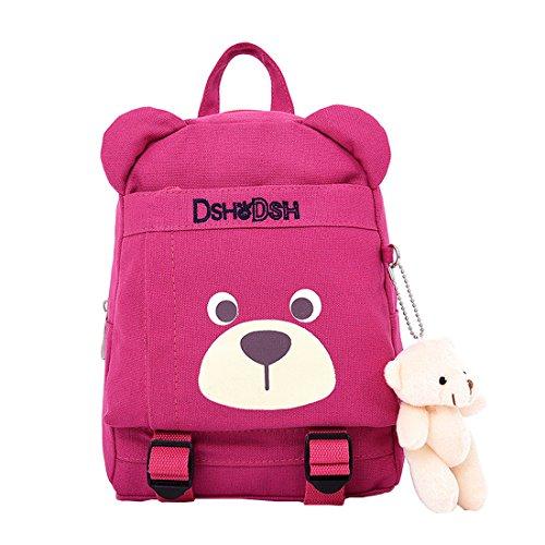 Cool&D Baby Rucksack Kindergarten Rucksack Cartoon Muster Schultasche Rucksack für Jungen und Mädchen Höhe 3-6 Jahre