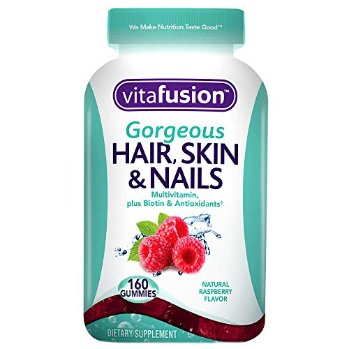 Vitafusion Gorgeous Hair, Skin & Nails Multivitamin, 160 Count (Packaging May Vary)