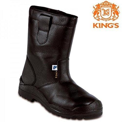 KINGS 96573 veiligheidsschoenen werkschoenen hoog laarzen winter warm gevoerd S3 48 EU