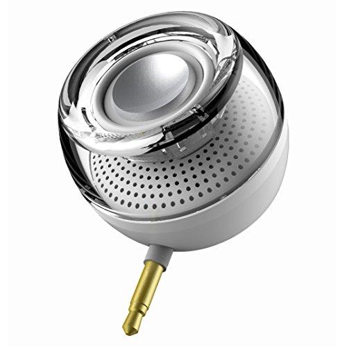 Leadsound HI5 Line-in Inalámbrico Cristal Mini Altavoz Portátil with 3.5mm Enchufe Aux...