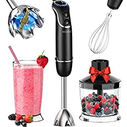 KOIOS 800-Watt/ 12-Speed Immersion Hand Blender