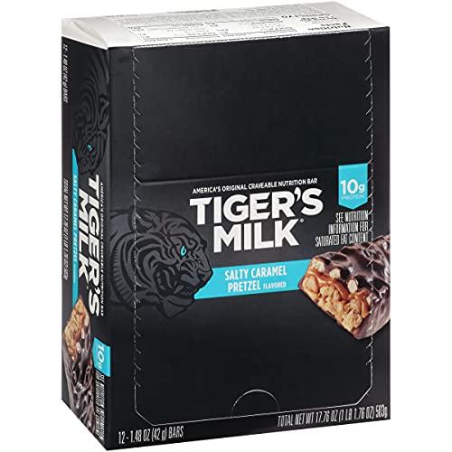 Tiger's Milk Salty Caramel Pretzel Flavored...