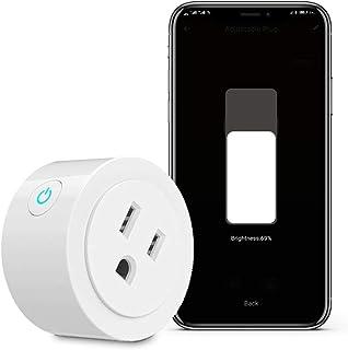 WiFi Smart Power Dimmer Plug Socket Brightness Adjust...