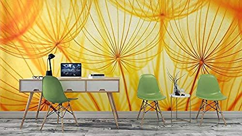 XHXI Verde Queda No tejido Premium Art Print Mural de pared Decoración Póster Foto Papel tapiz Imagen Diseño Pared Pintado Papel tapiz Decoración dormitorio Fotomural sala sofá mural-350cm×256cm