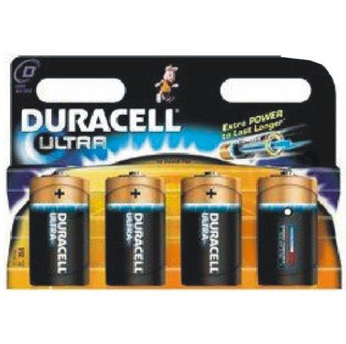 4 x Duracell ULTRA D LR20 ALKALINE Batterie neu versiegelt