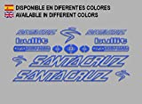 Ecoshirt MU-URN3-VR1K Pegatinas Santa Cruz Bullit Bike F135 Stickers Aufkleber Decals Autocollants...