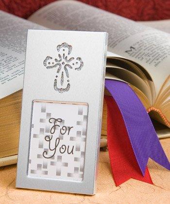 Wedding Favor Picture Frames: Shining Cross, 48