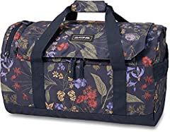 "U-shaped opening for easy access Zippered end pocket that duffle packs into end pocket for easy storage Removable padded shoulder strap Dimensions: 12 x 12 x 3"" Dakine offers a Limited Lifetime against manufacturing defects within the normal scope of..."
