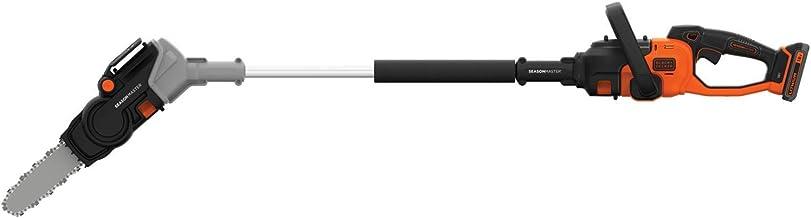 Black & Decker BCASK61D-QW 2-in-1 kettingzaag Season Master draadloos, 2,9 m/s – 1 acculader 2 h – 1 greep, 1 statief, 1 z...