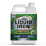 PetraTools Liquid Iron For Lawns - Chelated Iron, Liquid Iron for Plants, Liquid...