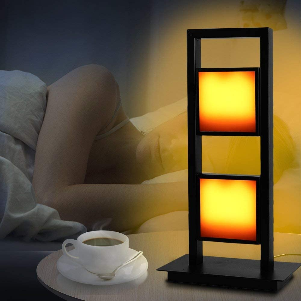 Eterbiz LED Flame Effect Table Flickering Lamp-Home Recommended L Direct sale of manufacturer Decorative