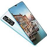 FLAMY Smartphone, 6,6-Zoll-HD-Wassertropfenbildschirm, 4800-mAh-Akku, Gesichtsentriegelung, 10-Kern-Prozessor, 13-Megapixel-Frontkamera + 24-Megapixel-HD-Rückkamera, 4 + 64 GB / 4 + 128 GB