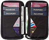Portadocumentos Viajes – Cartera de Viaje para Documentos – Porta Pasaporte Familiar con Bloqueo RFID