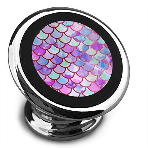 Amoyuan magnetische telefoon houder aquarel zeemeermin vis weegschalen auto telefoon houders voor auto met een super sterke magneet
