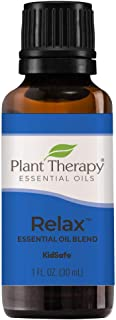 Sponsored Ad - Plant Therapy Essential Oil | Relax Synergy | Sleep & Stress Blend | 100% Pure, Undiluted, Natural Aromathe...
