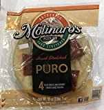 Molinaro's Pizza Kit - Hand Stretched - 4 Pizza Crusts and 4 Gourmet Tomato Sauce Pouches - 55 Ounces
