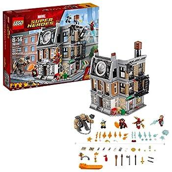 LEGO Marvel Super Heroes Avengers  Infinity War Sanctum Sanctorum Showdown 76108 Building Kit  1004 Pieces   Discontinued by Manufacturer