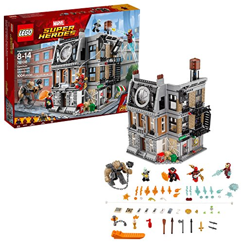 LEGO Marvel Super Heroes Avengers: Infinity War Sanctum Sanctorum Showdown 76108 Kit de construcción (1004 piezas)