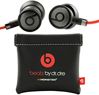 Monster-Beats - Auriculares in-ear, color negro